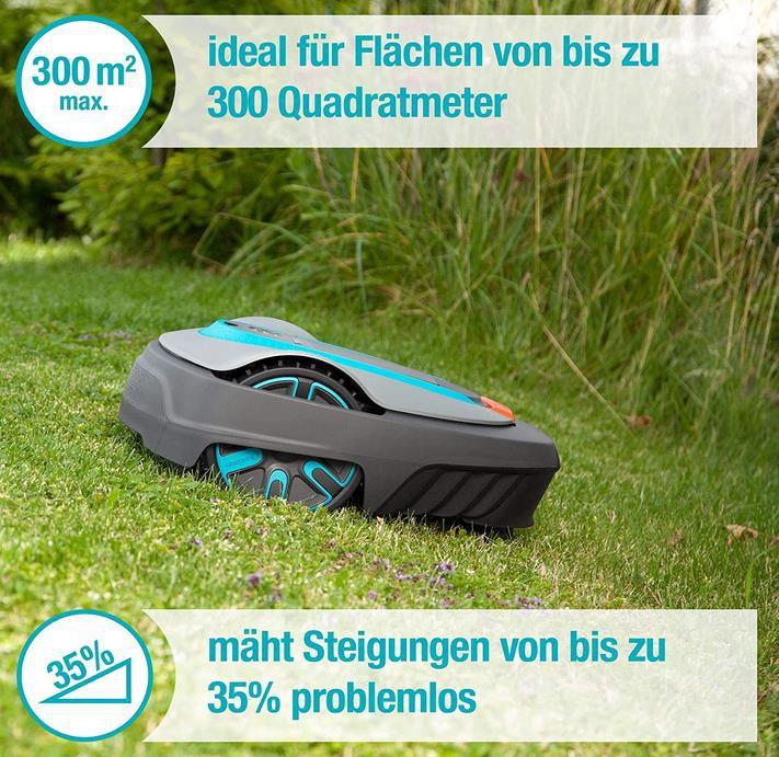 Gardena Sileno City 300: Mähroboter bis 300 m² Rasenfläche für 539,99€ (statt 590€)