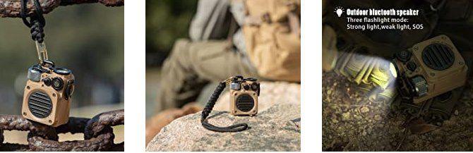MUZEN Wild Mini BT 5.0 Outdoor Lautsprecher mit Taschenlampe für 65,99€ (statt 110€)