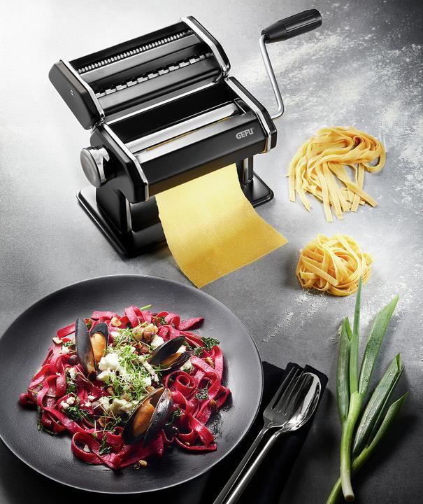 GEFU Pasta Perfetta Pastamaschine in schwarz matt für 33,94€ (statt 45€)