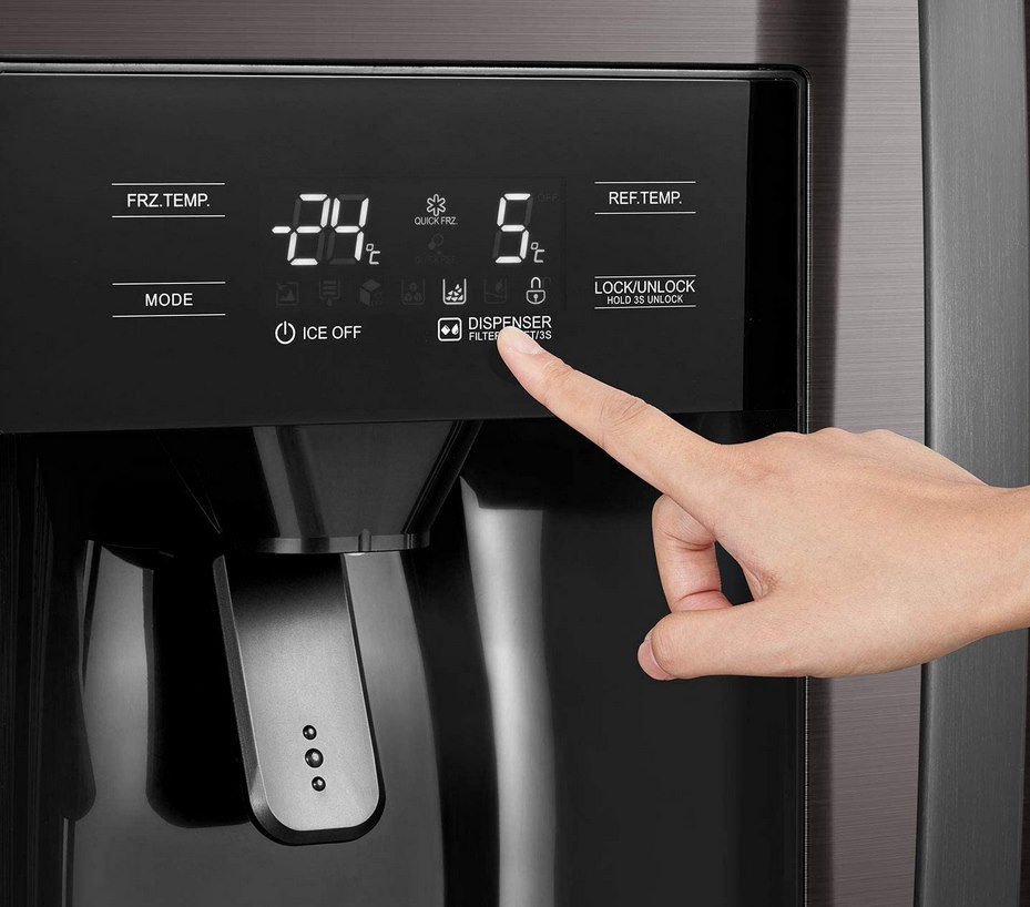 Midea KS DDX 6.32 WT Side by Side Kühl /Gefrierkombination mit Wasser  & Eisspender für 799€ (statt 899€)