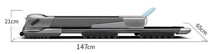 Xiaomi XQIAO OVICX Q2S smartes, faltbares & ultradünnes Laufband mit LED Anzeige für 339,99€ (statt 365€)
