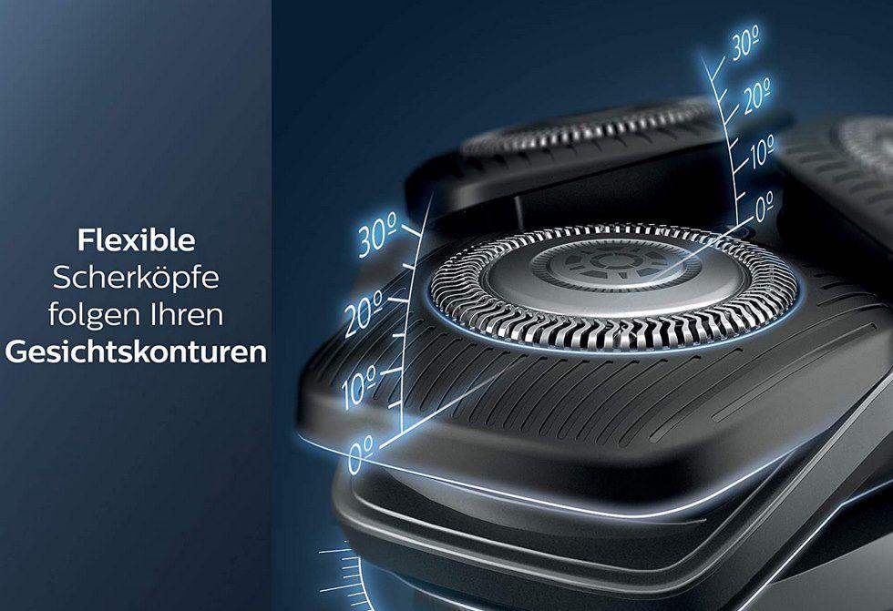 Philips Series 5000 Elektrischer Nass  & Trockenrasierer S5579/50 für 84,99€ (statt 110€)