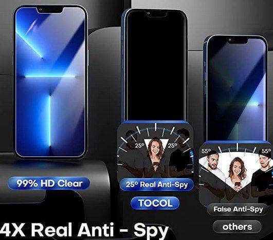 2x TOCOL Panzerglas & Kameraschutz für iPhone 13 Pro für 4,49€ (statt 8,99€)   Prime