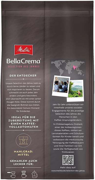 Melitta BellaCrema   Selection des Jahres   1Kg Packung für 8,54€ (statt 16€)   Sparabo