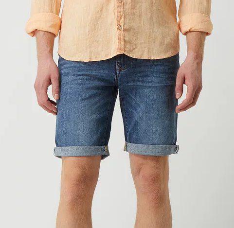 Schnell? McNeal Slim Fit Jeansshorts in vers. Farben für je 9,99€ (statt 30€)