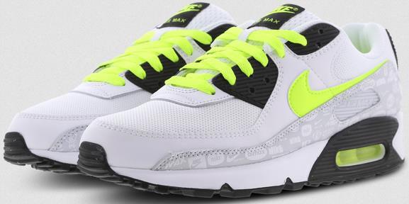Nike Air Max 90 Essential in Weiß/Neongelb für 109,99€ (statt 128€)