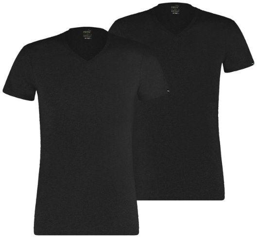 2er Pack: Puma Unterhemd Basic 2P V Neck in Schwarz oder Weiß für je 15,99€ (statt 20€)