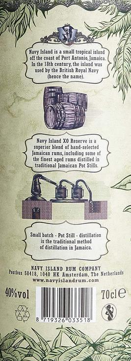 Navy Island XO Reserve   Jamaica Rum 0.7L für 27,99€ (statt 35€)