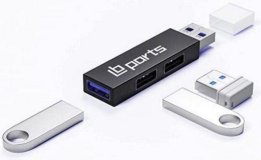LB parts Mini USB 3.0 Hub mit 3 Ports für 9,09€ (statt 13€)