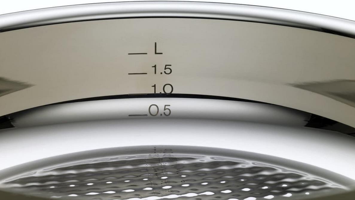 Fissler   Crispy Steelux Premium   28cm Edelstahl Bratpfanne für 79,99€ (statt 100€)