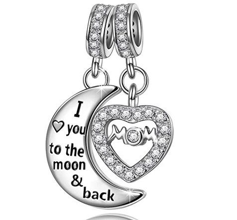 NINAQUEEN Charms Anhänger Love you to the moon and back für 13,99€   Prime