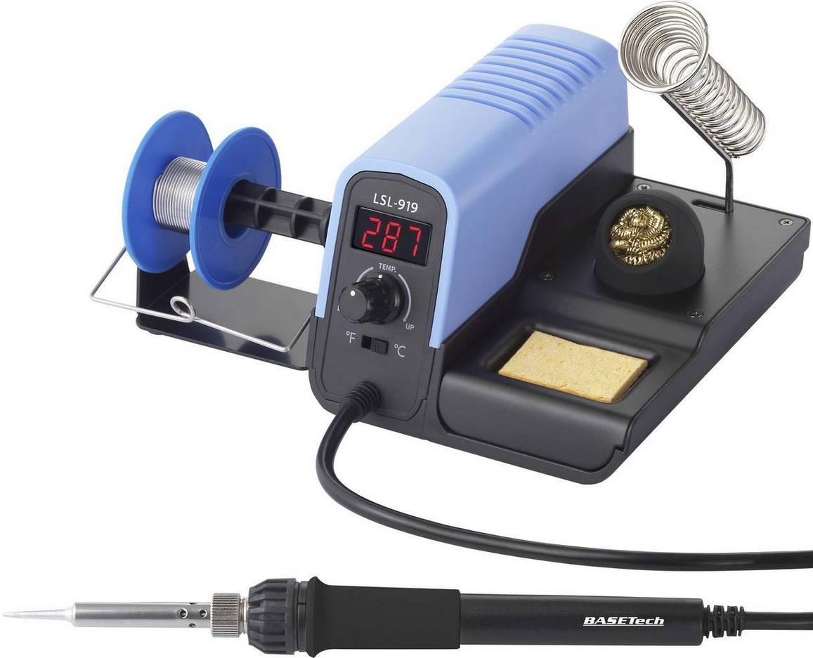 Basetech LSL 919   Digitale Lötstation 30W   160   480°C für 24,99€ (statt 32€)