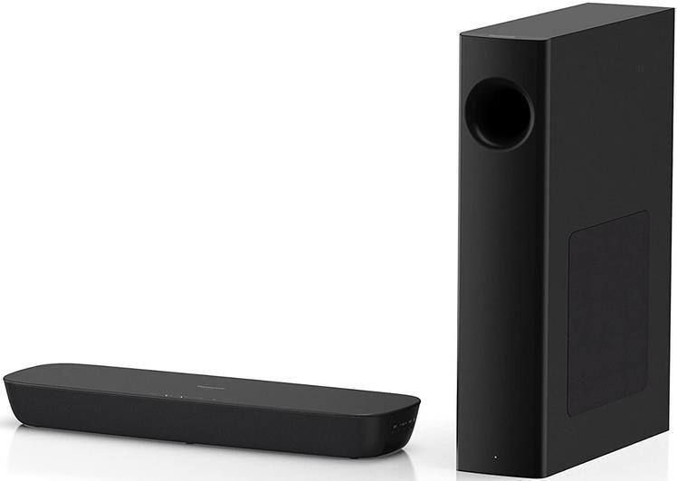 Panasonic SC HTB254EGK 2.1 Soundbar System mit Subwoofer für 115€ (statt 153€)