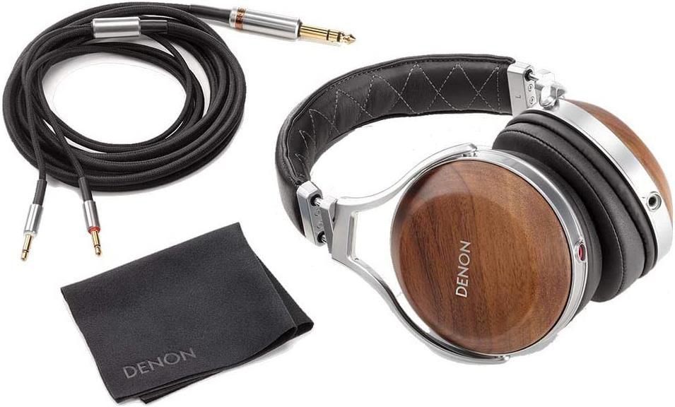 Denon AH D7200 Premium Over Ear Kopfhörer mit Ohrschalen aus Walnussholz für 479€ (statt 588€)