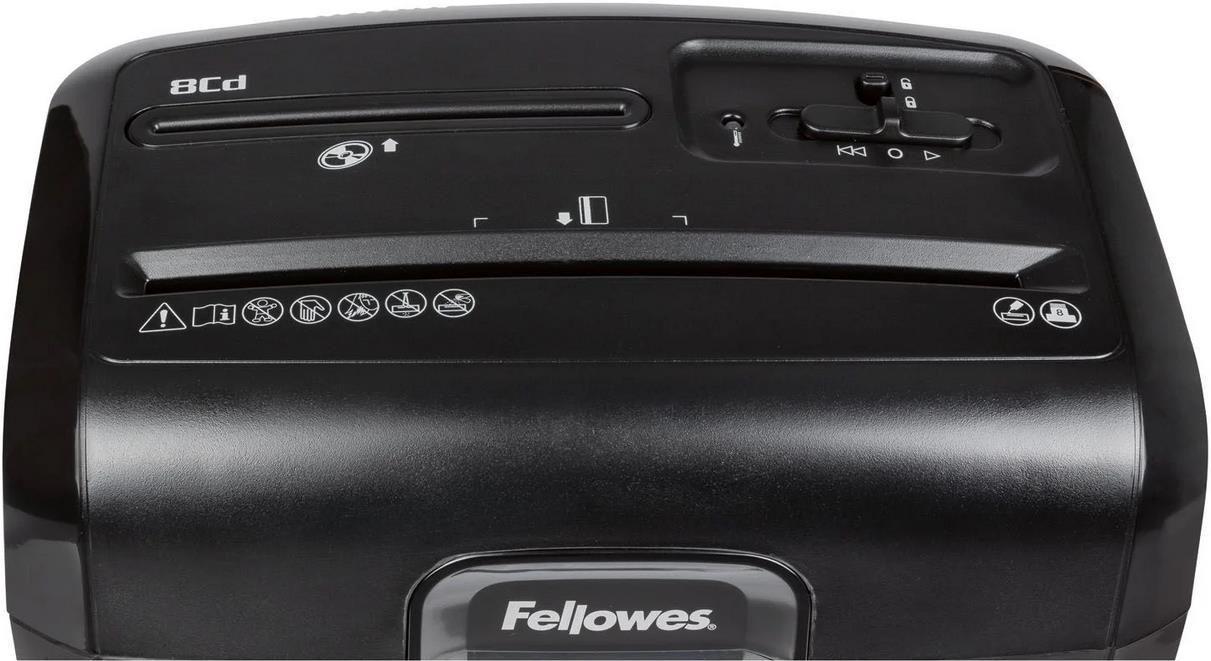 Fellowes Powershred 8CD Aktenvernichter für 39,94€ (statt 46€)