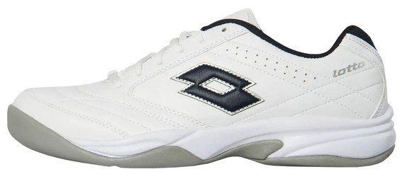 Lotto unisex Tennischhuhe COURT LOGO VIII SI in Blau oder Weiß für je 24,68€ (statt 40€)