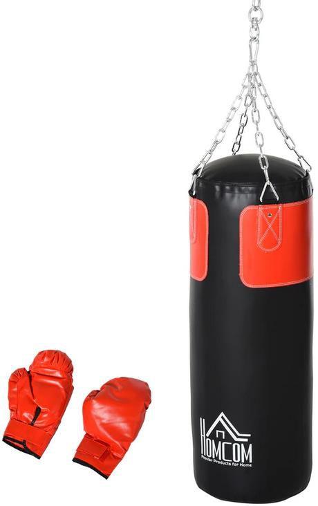 Homcom Boxsack mit Boxhandschuhen für 39,99€ (statt 55€)
