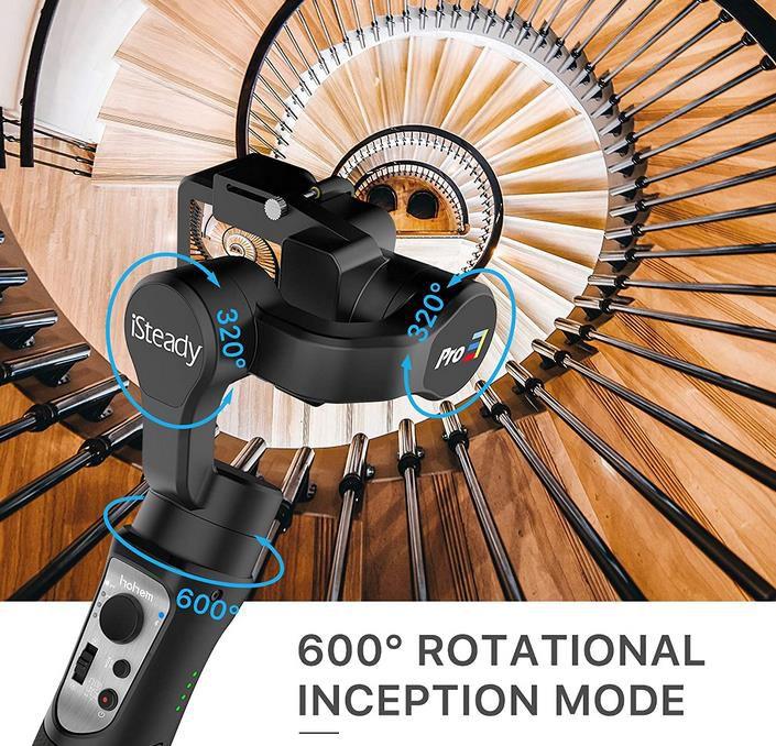 Hohem Pro 3   Gimbal für Actionkameras für 65,40€ (statt 86€)
