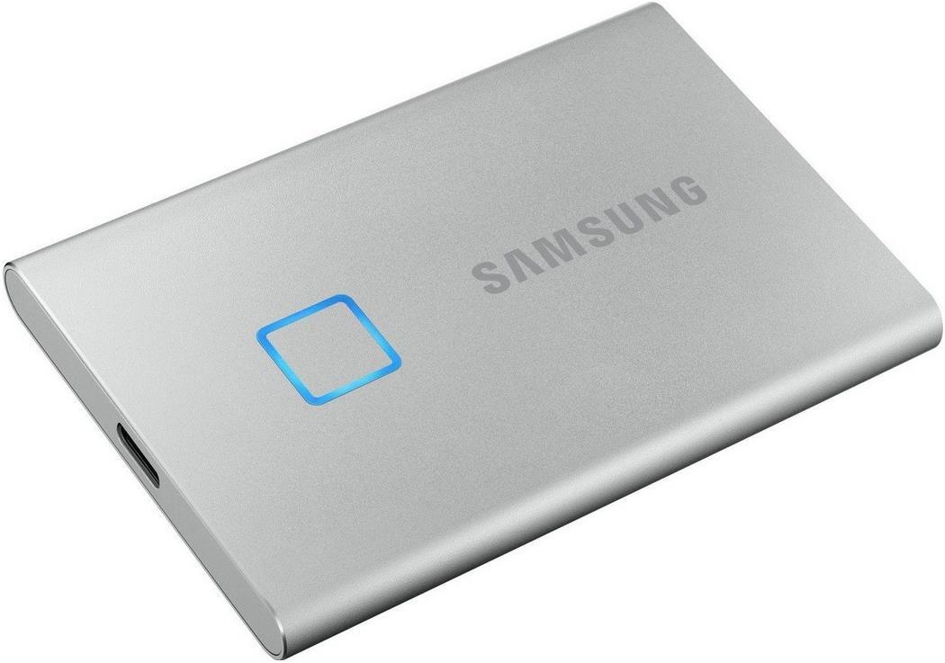 Samsung Portable SSD   T7 Touch   2 TB USB 3.2 für 235,90€ (statt 283€)