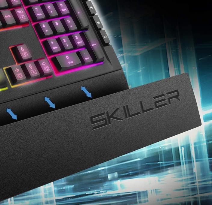 Sharkoon Skiller SGK5 Gaming Tastatur für 29€ (statt 43€)