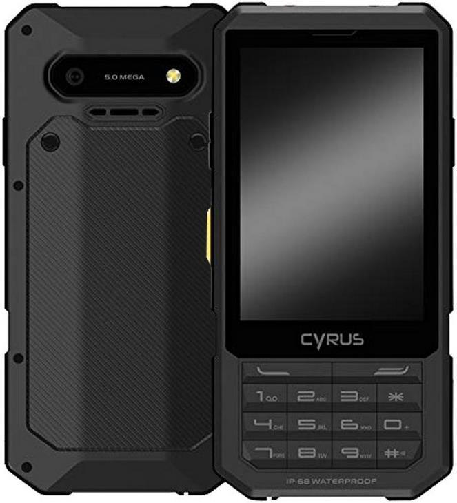 Cyrus CM17 Outdoor Handy in Schwarz für 77€ (statt 107€)