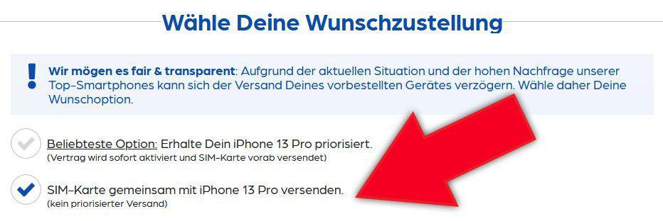 Apple iPhone 13 Pro mit 128GB für 199,95€ + Vodafone Allnet Flat mit bis 45GB LTE/5G ab 49,99€ mtl. + 100€ Wechselbonus möglich
