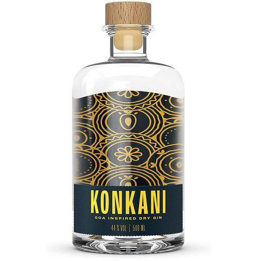 Konkani Goa Inspired Dry Gin (0,5 L) für 23,71€ (statt 31€) – Prime