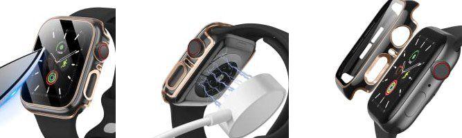 2er Pack: SUNFWR Apple Watch Schutzhülle für 40 oder 44mm ab 3,84€   Prime