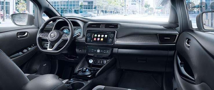 Privat & Gewerbe: Nissan Leaf N CONNECTA mit 150PS Elektro   Sofort verfügbar für 169€ mtl.   LF: 0.58