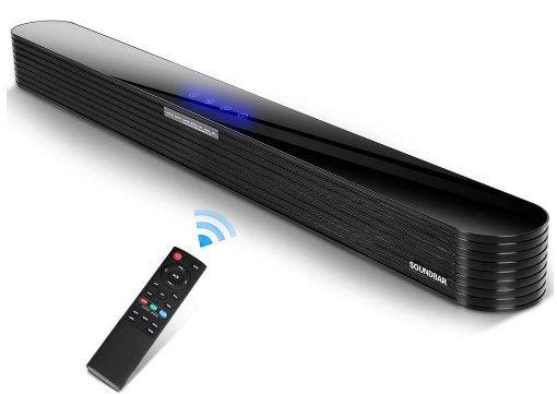 Joesheng SG01   2.0 Soundbar mit BT 5.0 & 80W für 65€ (statt 90€)