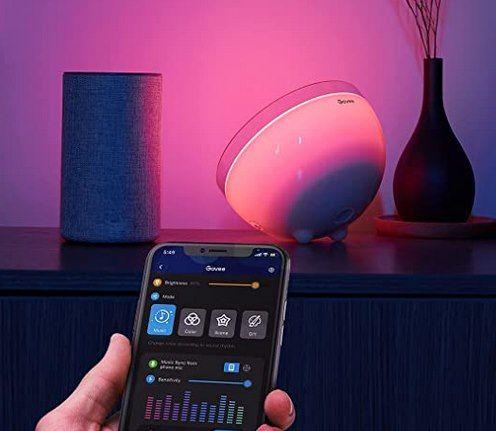 Govee RGBWW LED Tischleuchte mit App Steuerung für 35,19€ (statt 44€)
