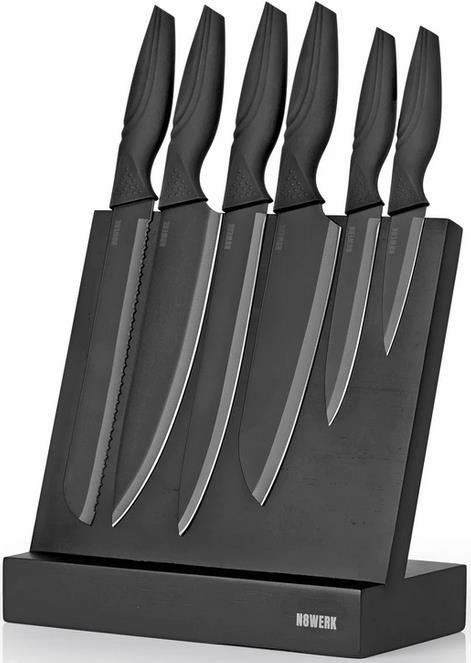 N8WERK Messerset & Messerblock in der Midnight Edition   7 teilig für 29,90€ (statt 40€)