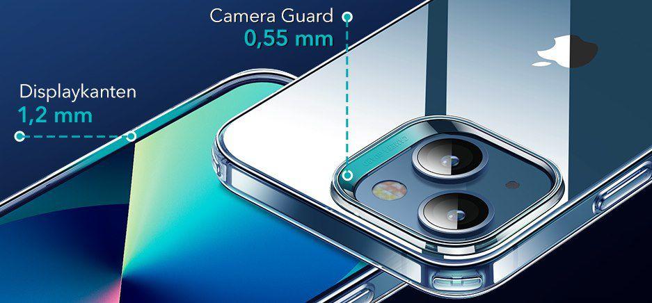 ESR durchsichtige Silikonhülle für iPhone 13   auch Pro & Pro Max für 3,49€   Prime