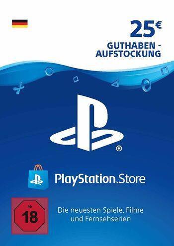 25€ Playstation Guthaben Karte für 20,49€