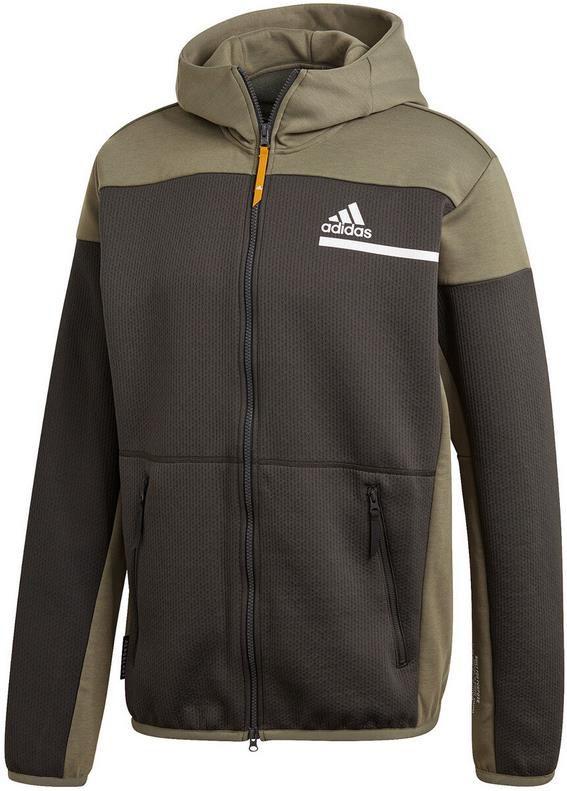 Adidas Z.N.E. Aeroready Herren Trainingsjacke in Khaki für 44,99€ (statt 67€)