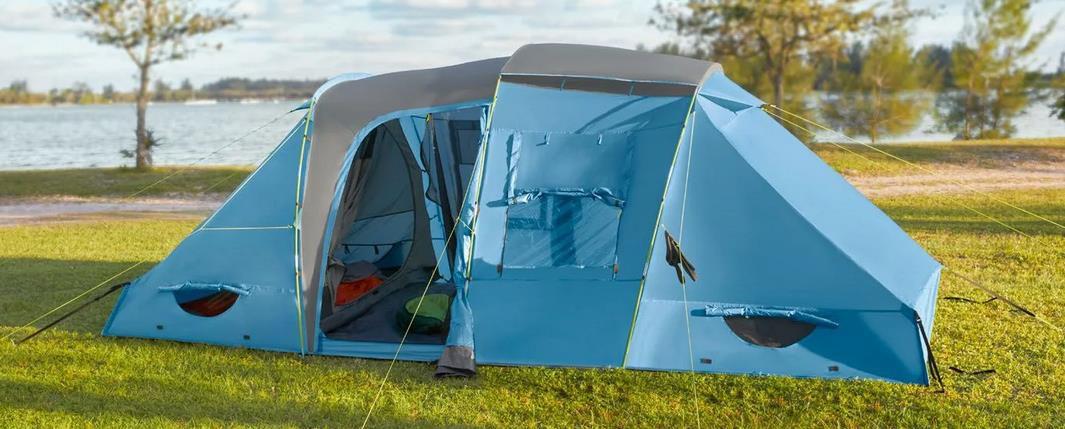 CRIVIT Großraumzelt mit räumlich getrennten Schlafkabinen für 99,99€ (statt 129€)