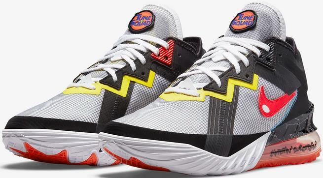 Nike LeBron 18 Low Sylvester vs Tweety Herren Basketballschuhe für 111,97€ (statt 160€)