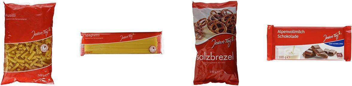 Amazon 5 für 4 Aktion: Jeden Tag Lebensmittel z.B. 5x Spaghetti für 1,96€ (statt 2,50€)