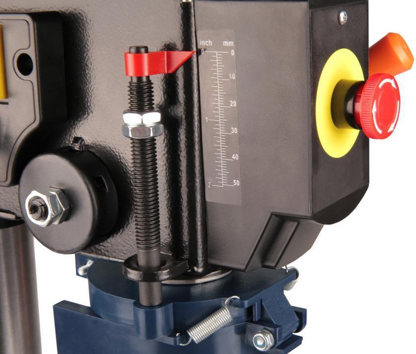 Ferm TDM1026 Tischbohrmaschine mit 350 Watt und 13mm Bohrdurchmesser für 76,90€ (statt 94€)