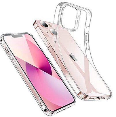 ESR durchsichtige Silikonhülle für iPhone 13 – auch Pro & Pro Max für 4,19€ – Prime