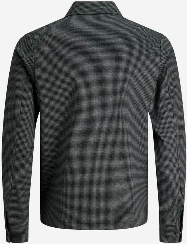JACK & JONES Sweatjacke in graumeliert / schwarz für 34,99€ (statt 50€)