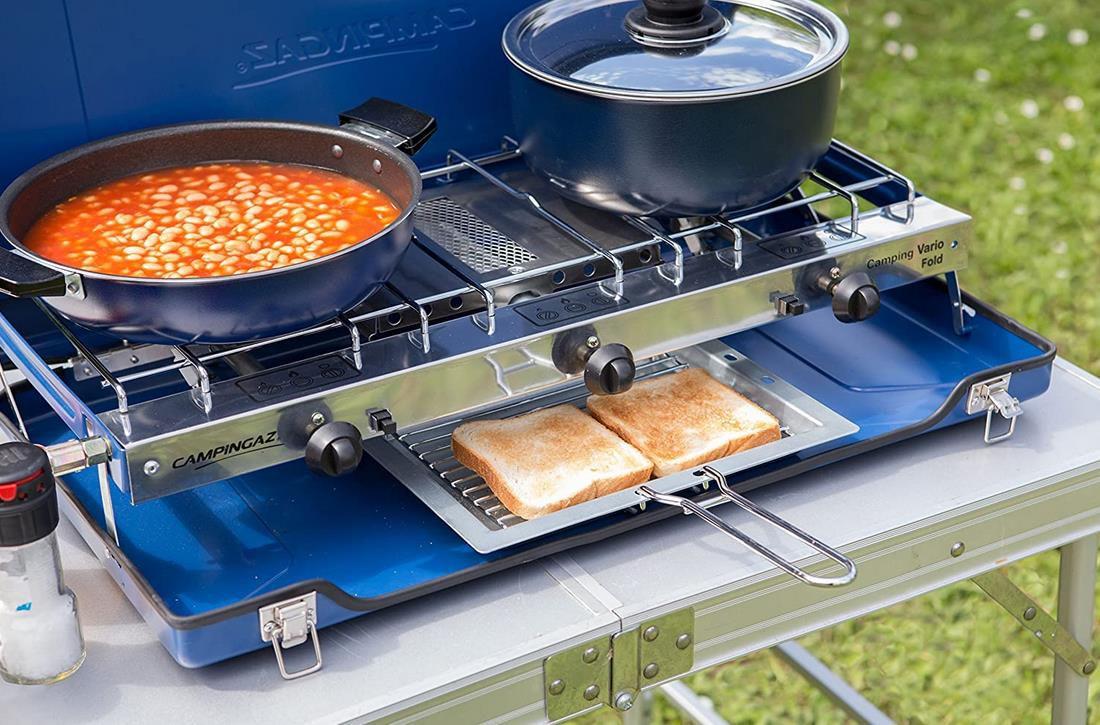 Campingaz   Camping Vario Fold   Zweiflammkocher für 49,19€ (statt 72€)