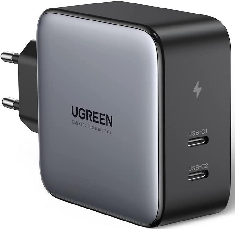 UGREEN 100W USB C Ladegerät mit PPS GaN Tech für 50,99€ (statt 66€)