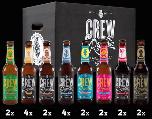 Crew Republic   Craft Beer   Eine Kiste kaufen und die Zweite umsonst dazu