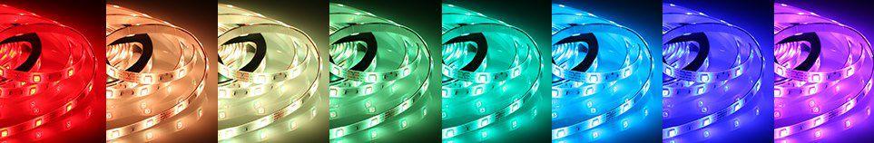 2x 5m Tomsine LED Streifen mit Fernbedienung für 9,99€ (statt 20€)   Prime