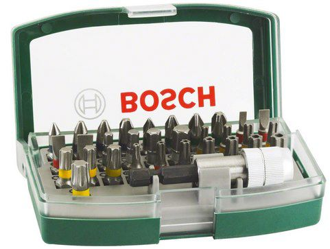 Bosch Schrauberbit Set (32 tlg.) für 7,99€ (statt 12€)   Prime