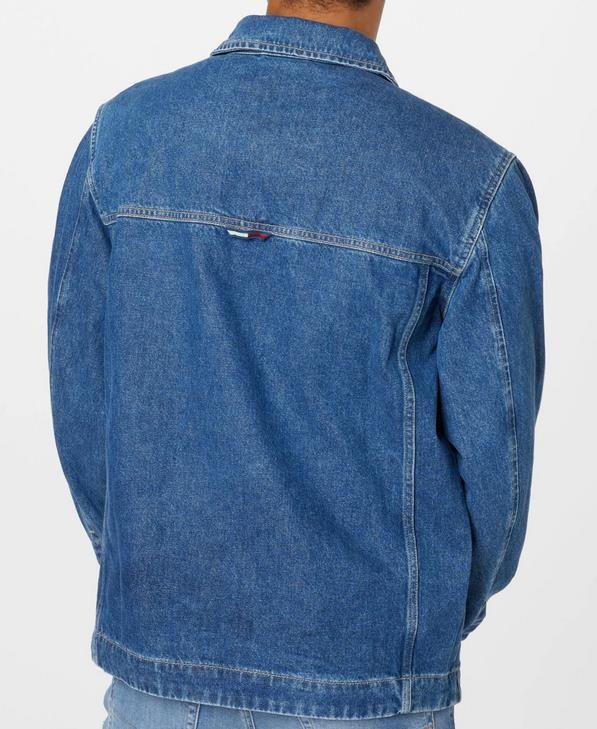 Tommy Jeans   Jeansjacke in Blau Denim für 97,75€ (statt 130€)