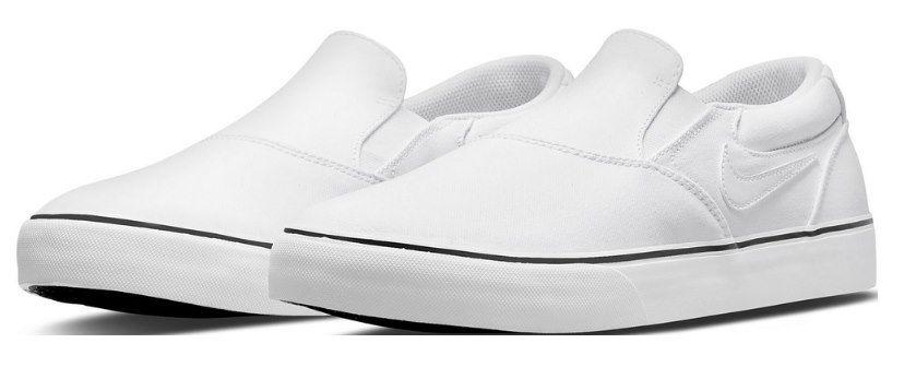 Nike SB Chron 2 Slip Sneaker in Weiß für 43,97€ (statt 55€)