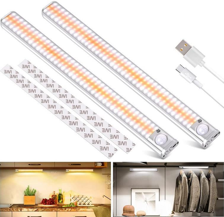 2er Pack Lazenry LED Unterbauleuchte   30 cm für 21,57€ (statt 36€)
