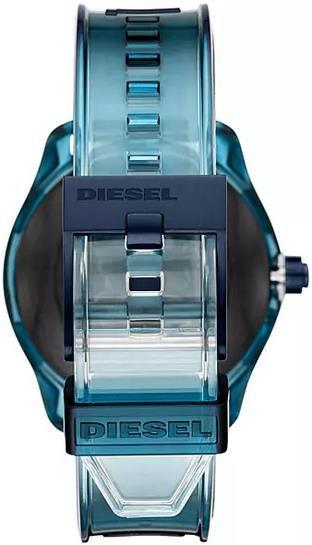 DIESEL Fadelite Gen4 Smartwatch Silikon, 190 +/  5 mm in Blau für 98€ (statt 140€)